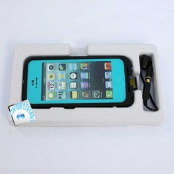 New Arrival LifE ProofS fre Case For iPhone 5 iPhone 5G Waterproof case Retail packaging Free Shipping(China (Mainland))