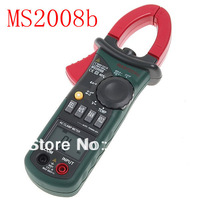 Free shipping ! Digtal Clamp Meter with Light Temp Frequency MASTECH MS2008B