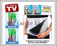 Free Shipping 100pcs/lot  Adjustable Slimming Belt As Seen on TV Wasit slimming belt Body Shaper
