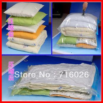 FREE SHIPPING 10PCS Vacuum Storage Bag/Vacuum Compressed Bag/Vacuum space saving compressed bag/50*70 60*80 70*90 70*100 80*110