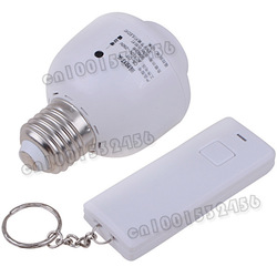 Remote Control Wireless Light Switch E27 Light Bulb Holder Adapter CS-DT(China (Mainland))