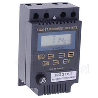 KG316T LCD Microcomputer 220V 25A Time Switch Timer Controller
