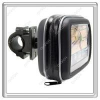 S5Y Motorcycle Bike Waterproof Case Bag and  Mount Holder For Garmin GPS Navigator
