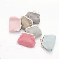 Shelf plain cotton fabric art mixed batch of fresh wallet