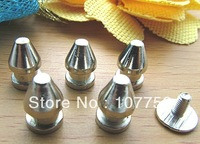 New Arrival Free shiping, DIY Alloy Fashion Cool Bullet Stud Spot Punk Rock Nailheads Shoes Spikes Leather YXMD-0012