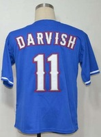 Free Shipping #11 Yu Darvish Men's Baseball Jersey,Embroidery and Sewing Logos,size M--3XL,Accpet Mix Order