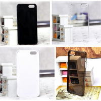 10 pcs Blank Hard Plastic Case for iphone 5 without Any Logo 4 color available Free Shipping Wholesale