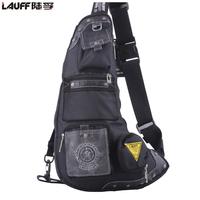 fashion unique design canvas  sports good quality  triangle bags single shoulder bag messenger bag free shipping