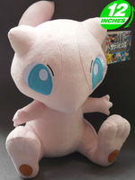 "Pokemon Mew Plush Doll Toys Figure 12""/28cm Stuffed Anime Manga Birthday Gift PNPL8044"