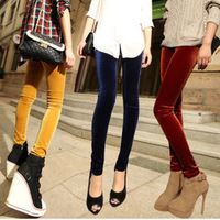 2013 new factory direct pencil tiny feet , Ms. Korea velvet leggings significantly thin section of thin models big yards