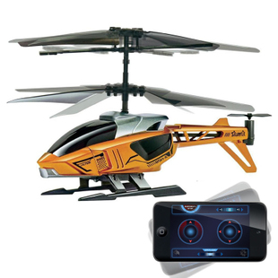 Free shipping Silver apple ipad iphone bluetooth intelligent remote control helicopters, 84620 toys for children