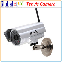 Tenvis CMOS IP Camera Outdoor Waterproof Surveillance Wireless Network Camera IP602W New Night Vision Fast Freeshipping 1pcs