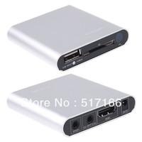 Mini HD 1080P HDMI CVBS YPbPr Output SD USB Media Player MKV RM RMVB