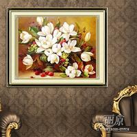 HOT Print cross stitch gardenia cross stitch kit  embroider