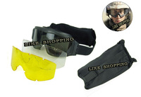 Wholesale free shipping PC lens Glasses outdoor Glasses ESS tactical glasses goggles