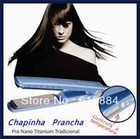 Hot Sale Wholesales Hair Products Straighteners Pro Nano Titanium 1 4 Free Shipping