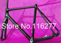 FR-602 Full Carbon 3K Matt Cyclocross cross Bike Frame + Fork + Headset   Size: 51cm, 53cm, 55cm, 57cm