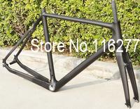FR-601 Full Carbon 3K Matt Cyclocross cross road Bike Frame + Fork + Headset   Size: 51cm, 53cm, 55cm, 57cm
