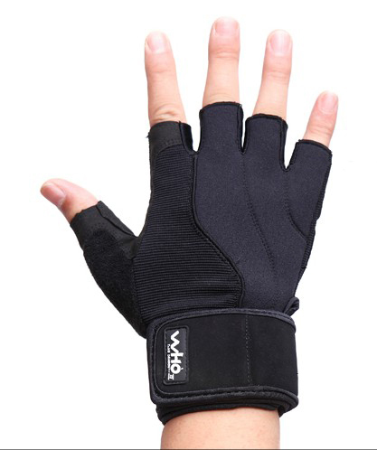 2013 men's fitness gloves for barbell,dumbbell,kettlebell,weightlifting,half-finger sports exercise gloves for women(China (Mainland))