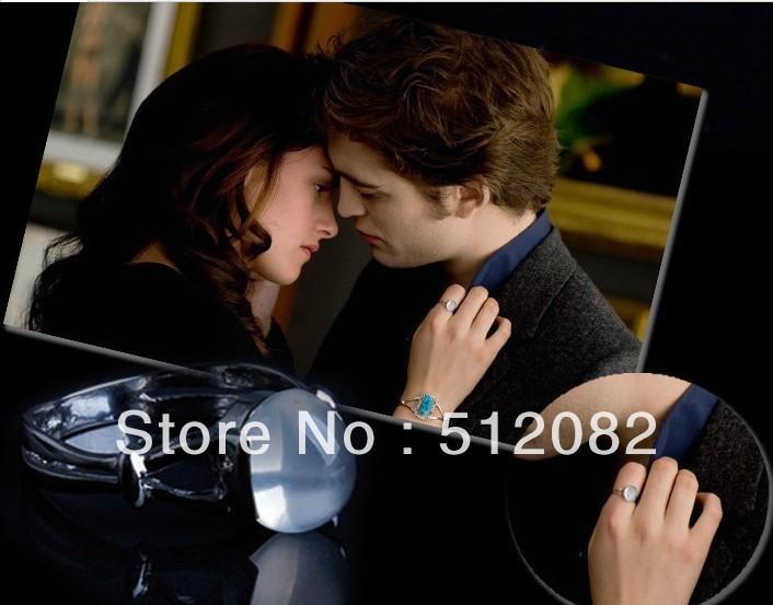 Twilight Bella Moonstone Ring Wedding Ring Dual layer Ring Gift Jewerly Size6-10 Free Shipping(China (Mainland))