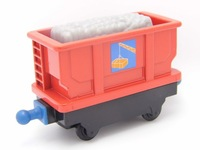 Free shipping, 3pcs/lot mix order, New arrival Chuggington Train ( Red Bucket Carriage )