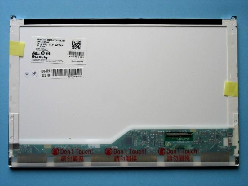"""14.1""""LCD Screen LP141WP2 (TL)(A1) LED WXGA+ Laptop Display 50Pin For Dell(China (Mainland))"""