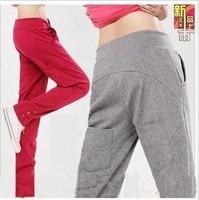 New 6029 ! four seasons all-match skinny pants harem pants female health pants casual sports pants