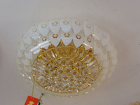 Traditional crystal lamp circle ceiling light living room lights bedroom lamp indoor lamps