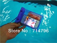 Wholesale - - Waterproof Camera Pouch Dry Case Bag Ski Beach for Camera Mobile Phone Sports Arrivals waterproof mobilephone bag