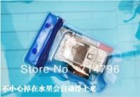 20pcs/lot phone Waterproof bag watertight enclosure swimming phone bag camera waterproof case colors mix S005