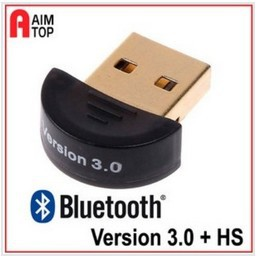 Free shipping  Mini Bluetooth Version 3.0 USB Dongle Wireless Adaptor - Brand New