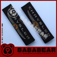 New arrive Bababear car logo safety belt cover shoulder pad chrysler CHRYSLER