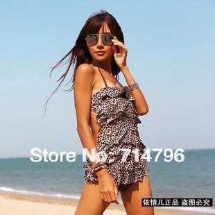 swimsuit bikini swim wear 2013 new arrival sexy leopard design beautiful hot on the beach M,L XL,XXL!
