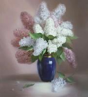 Diy digital oil painting by numbers coloring by numbers framed canvas picture oil painting 40 50-Exotic flower