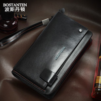Bosi Dan Benton handbag men's new Business male leather Wristlet clutch bag large capacity M package