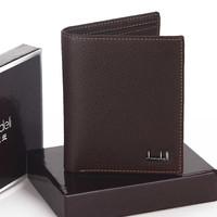 Dandeli fashion hot-selling male wallet short design wallet