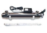 Free Shipping ultra violet lamp + ballast, Swimming Pool Sterilization 2GPM UV Water Sterilizer