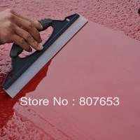 Silicone Car Window Wiper Squeegee Drying Blade Wash Clean Cleaner Shower Kit freeshipping 2pcs