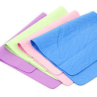 Min. order is $15 (mix order) 5490 leather multi purpose cleaning towel absorbent  wipe towel