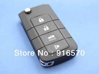 Remote folding key car key Uncut Blade Key Remote Shell Case For NISSAN 4 Button