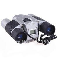 Free Shipping 10x25 Zoom Digital Camera Video LCD Telescope Binoculars USB Port Connect To PC