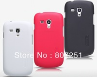 Nillkin Super Shield Shell Cover Case for Samsung i8190 Galaxy S3 Mini with Screen Protector and Retail Package DHL Freeshipping