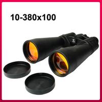 Free Shipping Telescope 10-380x 100mm Binoculars for Backpacking / Hiking