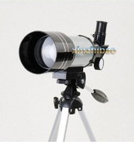 Free Shipping 150x Refractive Astronomical Telescope (300/70mm) Monocular Space Spotting Scope Watch Camping Hunting