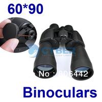 60*90 Zoom Outdoor Tourism Telescope Jumelles Binoculars for Camping/Hiking Black 2511