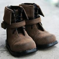 46# Brown 1/3 SD DZ LUTS BJD Dollfie Leather Shoe/Boots