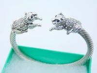 Promotion.Free Shipping 925 Sterling Silver Jewelry.Wholesale Beautiful Fashion Bracelet B096