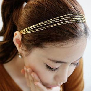 New style fashion sweet metal hairwear for women T7330(China (Mainland))