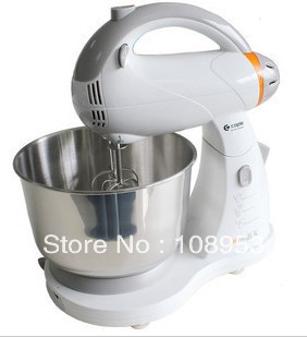 2013 Brand new electric mixer desktop eggbreaker dough mixing machine mixer multifunctional high power