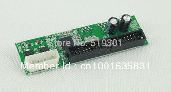 "Free shipping 7+15pin SATA To 3.5"" Male PATA IDE Adapter Converter Card Small PCB"